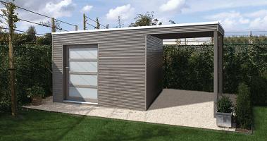 abri de jardin contemporain comment le configurer. Black Bedroom Furniture Sets. Home Design Ideas