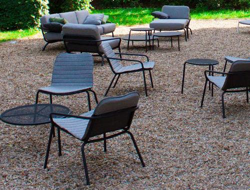 Mobilier TODUS pour terrasses et jardin à Namur