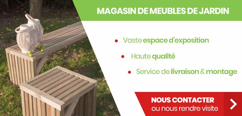 Meubles de jardin en province de Namur